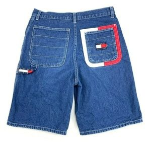 Tommy Hilfiger Bottoms - Vantage Tommy Hilfiger Denim Jeans Flag Logo